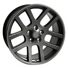 22 Gun Metal Wheels Fit Dodge Ram 1500 Dakota Durango Chrysler Aspen Rims Set 4