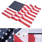 3x5 FT American Flag Oxford Embroidered Stars Sewn Stripes w Grommets US