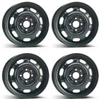4 Alcar steel wheels 7700 60x14 ET43 4x100 for Volkswagen Polo Golf III Lupo Ve