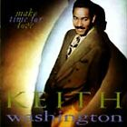 Make Time for Love by Keith Washington (CD, Mar-1991, Qwest) BRAND NEW SEALED CD