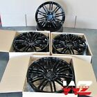 22 Wheels For Porsche Panamera 22x10 22x11 Gloss Black 5x130 22 Inch Rims Set 4