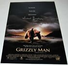 WERNER HERZOG signed GRIZZLY MAN 12X18 movie poster photo DIRECTOR W COA