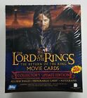 2003 Topps LOTR Lord Of The Rings Return Of King Collectors Update Hobby Box *D