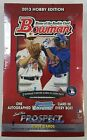 2013 Bowman Baseball Factory Sealed Hobby Wax Box