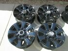 20 FORD F250 FACTORY WHEELS RIMS BLACK