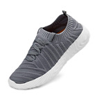 SouthBrothers Mens Sneakers Breathable Mesh Walking Shoes Grey Size 9