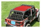 Steinjager Full TeddyTop Solar Screen Red Wrangler JK 4dr J0043736