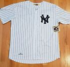 New York Yankees Mickey Mantle Jersey Men's XXL Majestic Cool Base Cooperstown