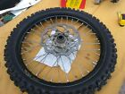 2008 08 KTM 450 SX-F 450 SXF Front EXCEL Wheel, Rotor and Dunlop tire