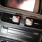 Luxury Hello Kitty Car Accessories Steering Wheel Cover For Woman Pink Cartoon