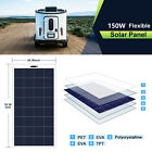 2150W 18V Poly Semi Flexible Solar Panel Battery Charger RV Boat Camping