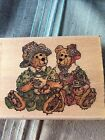 RUBBER STAMPS BOYDS BEARS FRIENDSHIP BEST FRIENDS BEAR RARE COLLECTIBLE STAMP