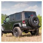 Rugged Ridge XHD Spring Assist Soft Top Black 07 09 Wrangler JK 4dr 1374145