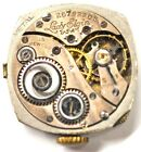 LADY ELGIN PENDANT POCKET WATCH MOVEMENT 15 JEWELS FOR PARTS/REPAIRS #B293