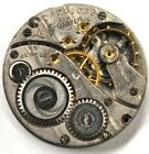 LADY ELGIN POCKET WATCH MOVEMENT 15 JEWELS FOR PARTS/REPAIRS #B223