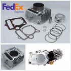 Durable Motorcycle Engine Rebuild Cylinder Kit 54mm Piston Ring Gasket 110-125cc