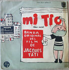 JACQUES TATI Mon Oncle OST Rare SOUTHAMERICA EP PS 1958 Different COVER