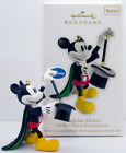 NIB 2012 HALLMARK ORNAMENT MAGICIAN MICKEY MICKEYS MOVIE MOUSTERPIECES SERIES #1
