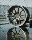 18x95 18x105 5x1143 +15 Bronze Wheels Aodhan DS07 Rims 18 Staggered Set 4