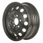69187 Refinished Toyota Pickup 1979 1988 14 inch Black Steel Wheel Rim
