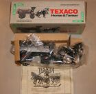 1991 ERTL TEXACO HORSE & TANKER LOCKING COIN BANK WITH KEY LIMITED EDITION NIB
