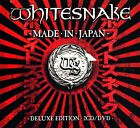 WHITESNAKE: Made In Japan-Deluxe Edition 2-CD & DVD (Live/Sound Check Version)