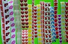 220 Mixed Tanning Tattoo Scrapbooking Stickers Assorted Heart Lips etcNEW