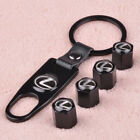 Valve Auto Wheel Tire Tyre Stem Air Cap Key Chain Wrench Fit For Bmw Vw Honda