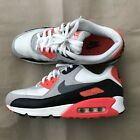 Mens Rare Nike Air Max 90 OG Retro Vintage 105 Sail Grey Infrared Sneaker