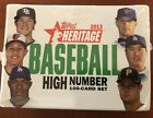 2013 Topps Heritage High Number Set (Factory Sealed)