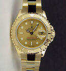 Rolex Lady Yachtmaster Yellow Gold Champagne Dial 169628 29mm - WATCH CHEST