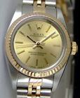 Rolex Oyster Perpetual Yellow Gold & Steel Champagne Index 67193 - WATCH CHEST