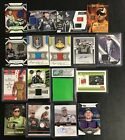 LOT x17 Various Auto Racing relic and auto autograph cards