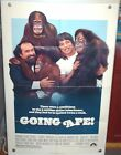 Going Ape Movie One Sheet Poster  1981  27 x 41 Used
