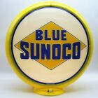 Blue Sunoco Gas Pump Globe