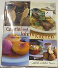 Signed Caprial Johns Kitchen 2003 Cookbook Recipes Cooking Together Illustrated