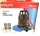 Utilty Water Pump 1 4hp 40gpm For Pool  Boat Covers Window Well Spas Rooftop