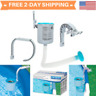 Swimming Pool Wall Mount Surface Skimmer Above Ground Debris Cleaner Basket Pool