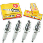 4pcs Jawa 350TS NGK Standard Spark Plugs 350 Kit Set Engine lv