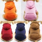 Pet Dog Cat Puppy Sweater Hoodie Coat For Small Pet Dog Warm Costume Apparel HOT