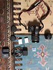 Canon 600d, 2 Batteries 8gb Sd Card, 50mm, 28mm-135mm Lens, Charger And Strap