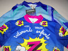 2 Vintage Cycling Jersey NWT Eick and Finish Line Active Wear Dupont Z Team Sz M