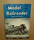 The Model Railroader Train Magazine  Vintage March 1943 Back Issue