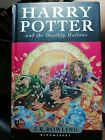 HARRY POTTER AND THE DEATHLY HALLOWS BY JK ROWLING FIRST EDITION BOOK GOOD CO