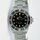 Rolex Submariner Black Face Stainless Steel 40mm No Date 14060 - WATCH CHEST