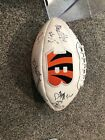 2010 bengals autograph football. Terrell Owens, Carson palmer and more.