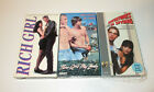 VHS Tape Jill Schoelen Movie Lot Rich Girl There Goes My Baby Adventures Spying
