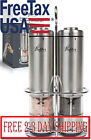 Battery Operated Salt And Pepper Grinder Set Electric Stainless Steel Salt
