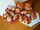 12 Vintage Christmas Ornaments Paper Mache Nativity Box Set Return Of The Magi