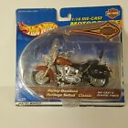 HOT WHEELS HARLEY-DAVIDSON HERITAGE SOFTAIL CLASSIC 1/18TH SCALE